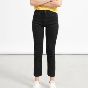 Everlane | NWT high rise slim straight jeans 28